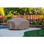 "Duck Covers Patio Table & Chair Set Cover - Rectangle - 140""L × 80""W × 29""H"