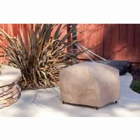 "Duck Covers Patio Ottoman / Side Table Cover - 24""L × 24""W × 18""H MOT242418"