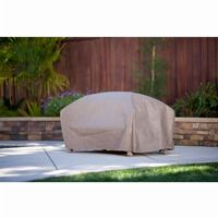 "Duck Covers Patio Ottoman / Side Table Cover - 30""L × 25""W × 18""H MOT302518"
