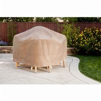 "Duck Covers Patio Table & Chair Set Cover - Rectangle - 127""L × 84""W × 29""H MTO12784"