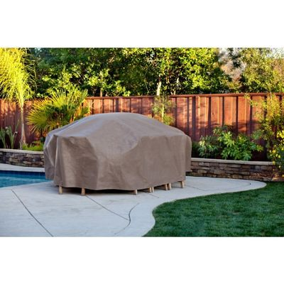 "Duck Covers Patio Table & Chair Set Cover - Rectangle - 96""L x 64""W x 29""H MTO09664"
