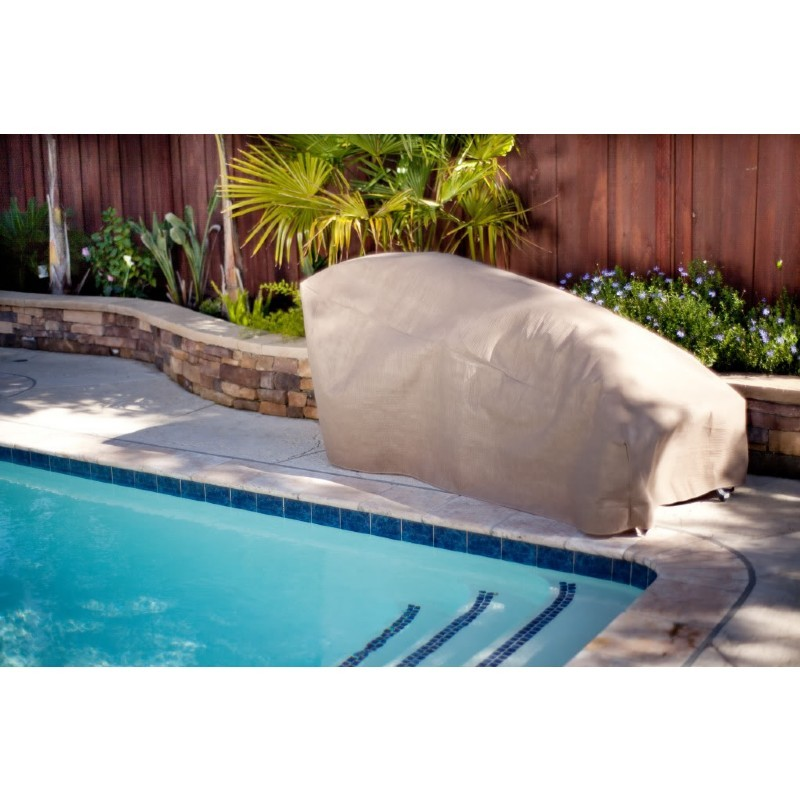 "Duck Covers Patio Chaise Lounge Cover - 80""L × 30""W × 32""H"