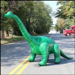 Inflatable Lifelike 144 inch Long Brachiosaurus JC-DI-BRAC12