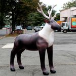 Inflatable Lifelike 84 inch Reindeer JC-AL-REIN