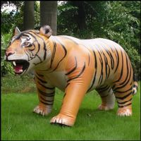 Inflatable giant animals