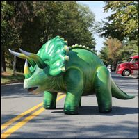 Inflatable Lifelike 120 inch Long Triceratops JC-DI-TRI10