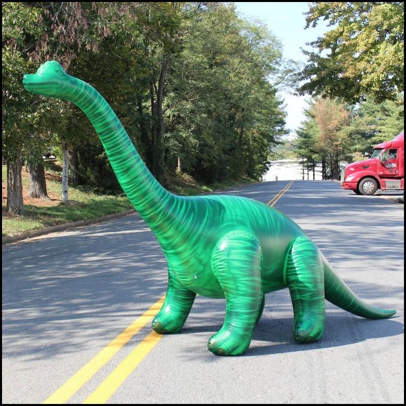 Inflatable Lifelike 144 Inch Long Brachiosaurus