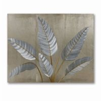 Metallic Leaves Wall Graphic WG42541
