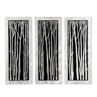Silver Birch Wall Graphic WG40502