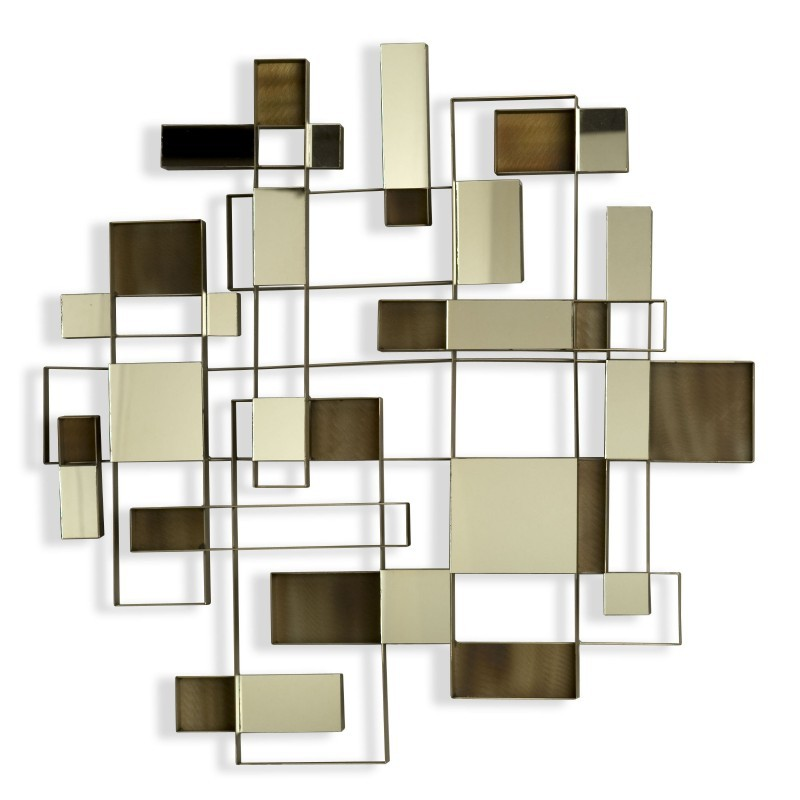 Angles Wall Art Mirror