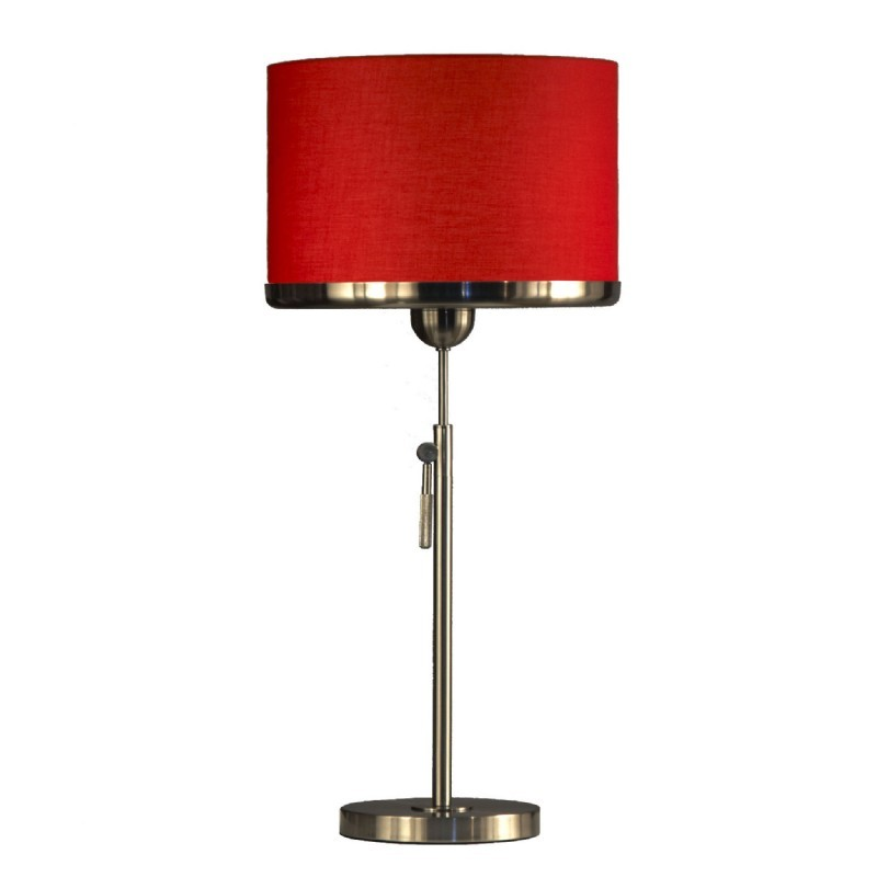 Brim Table Lamp-Red
