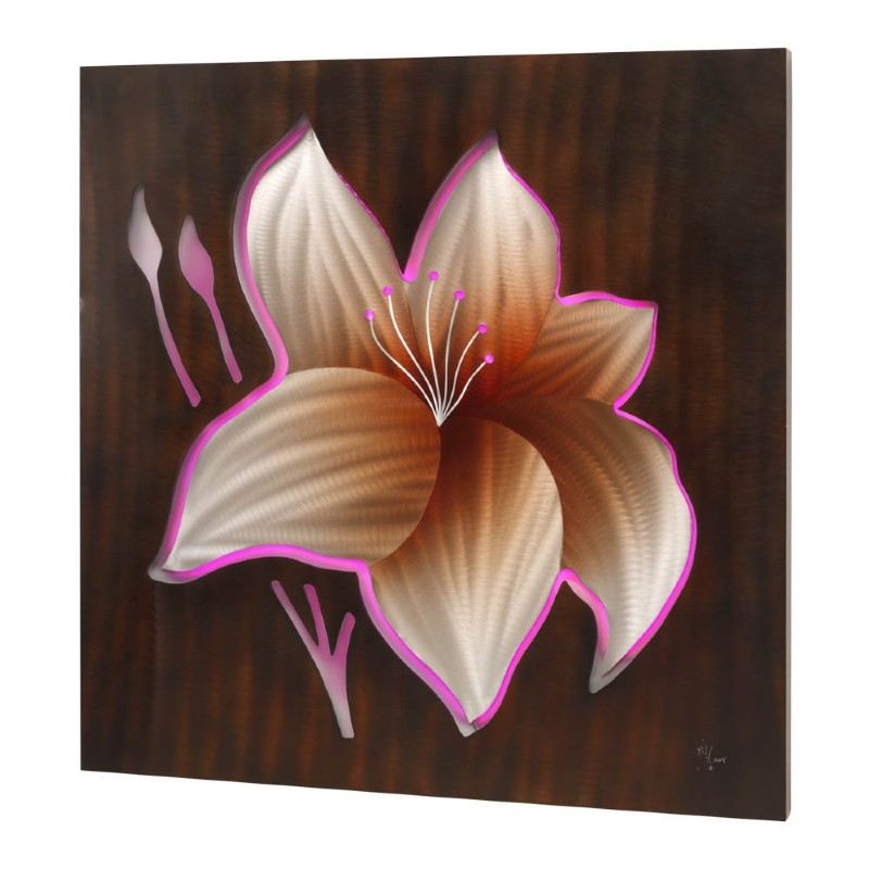 Hibiscus Wall Art Battery