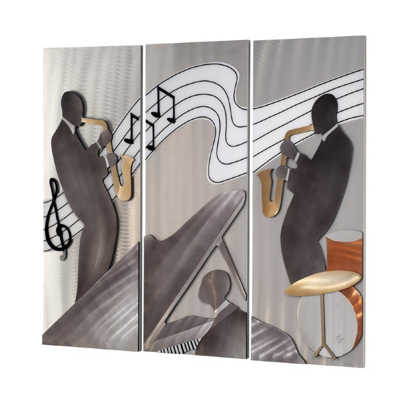 Jazz 3 Piece Wall Graphic