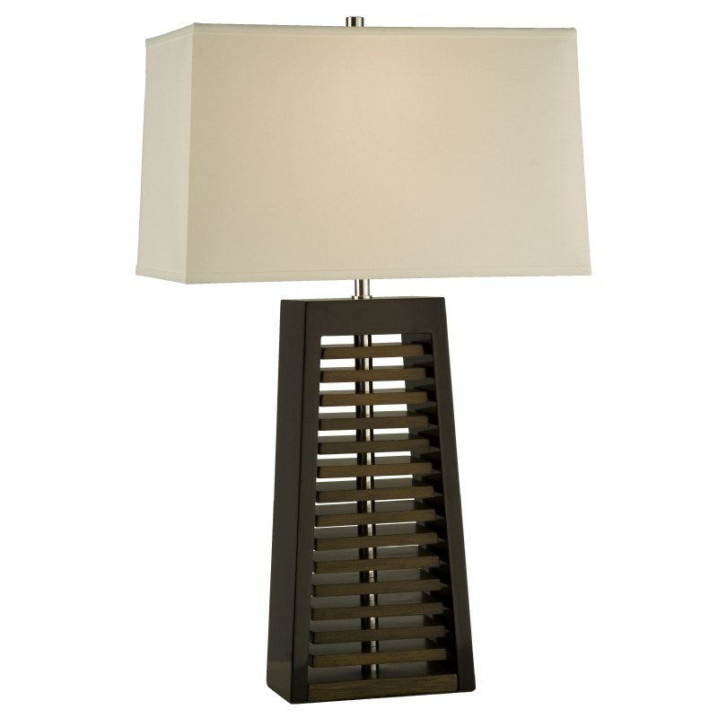 Louver Table Lamp