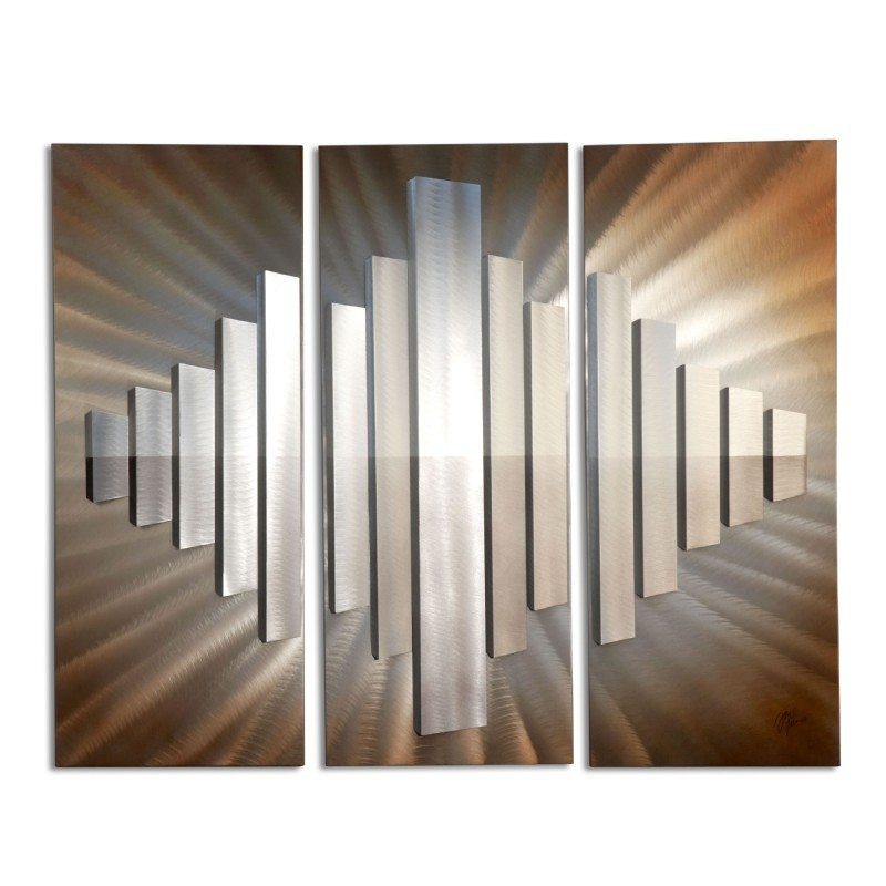 Sunburst City Wall Graphic