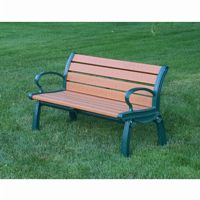 Heritage Resinwood Park Bench 4 Feet FF-PB4-HER