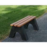 Sport Recycled Plastic Park Bench 4 Feet FF-PB4-SPO