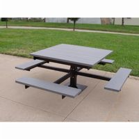 T-Table Resinwood Picnic Bench and Table 4 Feet FF-PB4-BFSPIC