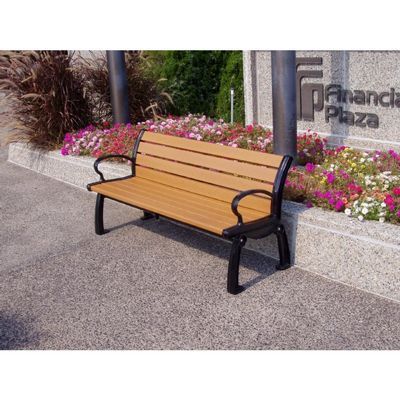 Heritage Resinwood Park Bench 5 Feet FF-PB5-HER
