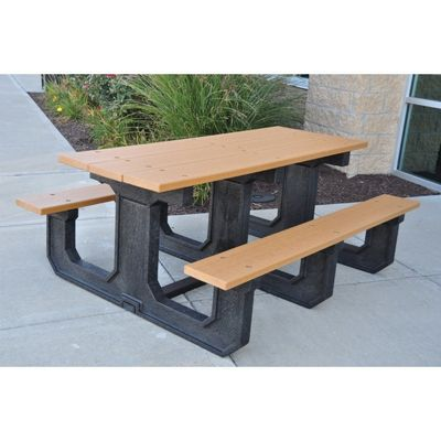 Park Place Resinwood Picnic Bench and Table 8 Feet FF-PB8-PARKP