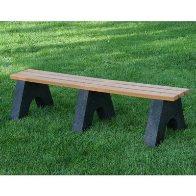 Sport Recycled Plastic Park Bench 6 Feet FF-PB6-SPO