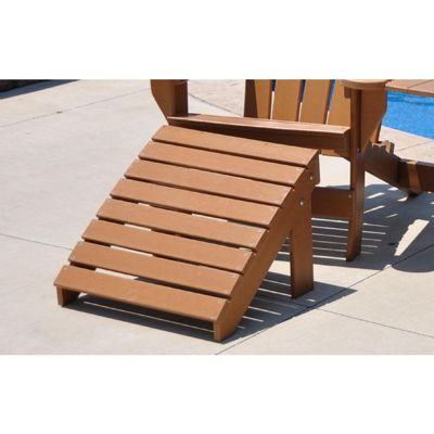 Traditional Recycled Plastic Ottoman For Adirondack Chairs FF-PBATRAOT