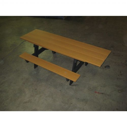 A Frame Resinwood Picnic Bench and Table 6 Feet-ADA FF-PB-APIC6-ADA