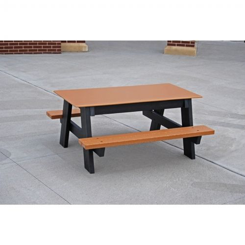 Kids Resinwood Picnic Bench and Table 4 Feet FF-PBKPIC4