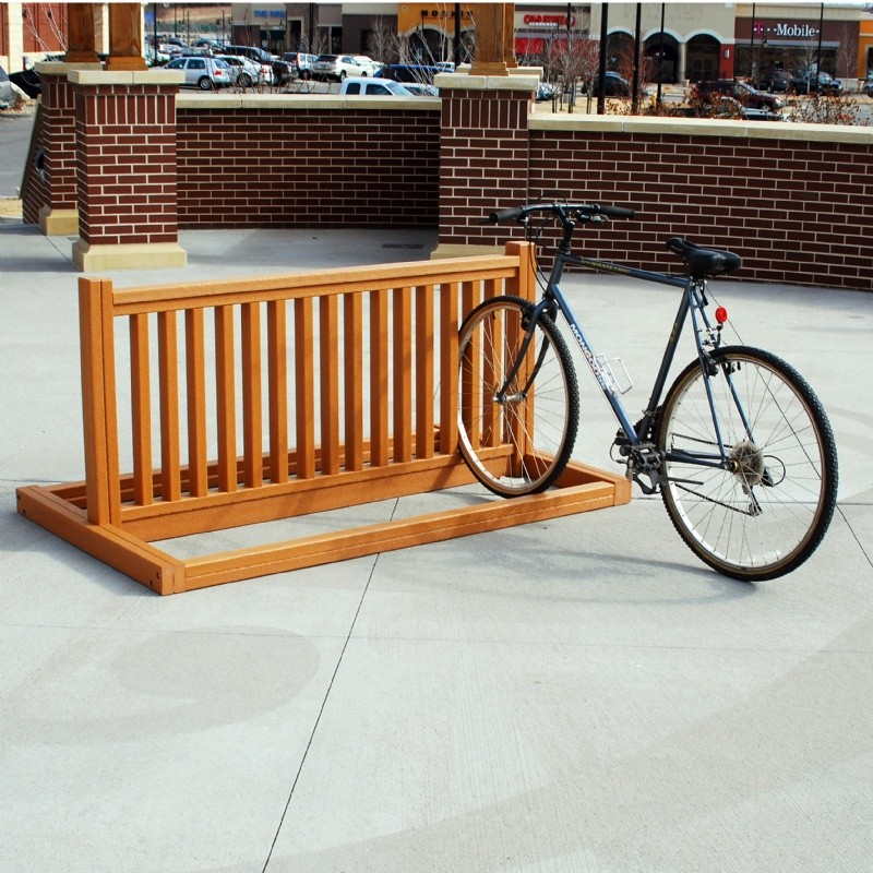 Most Popular in Rhode Island: Home & Garden: Bike Racks: Bike Rack Resinwood 6 Feet