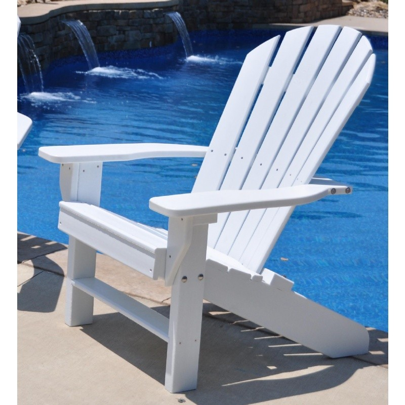 Sea Side Adirondack Chair Recycled Plastic