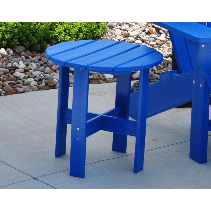 Traditional Recycled Plastic Side Table for Adirondack Chair : Coffee Tables