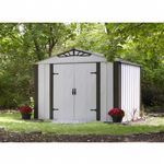 Arrow Designer Series 10 ft. × 8 ft. Steel Storage Shed