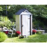 Arrow Designer Series 4 ft. × 2 ft. Steel Storage Shed