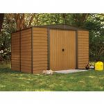 Arrow Euro Dallas (Woodridge) 10 × 12 Steel Storage Shed