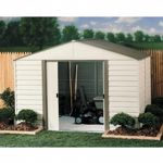 Arrow Vinyl Milford 10 × 12 Standard Shed