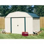 Arrow Vinyl Sheridan 10 × 14 Storage Shed VS1014