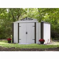 Arrow Designer Series 10 ft. × 8 ft. Steel Storage Shed DS108