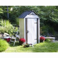 Arrow Designer Series 4 ft. × 2 ft. Steel Storage Shed DSM42