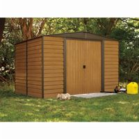 Arrow Euro Dallas (Woodridge) 10 × 12 Steel Storage Shed ED1012