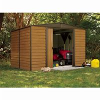 Arrow Euro Dallas (Woodridge) 10 × 8 Steel Storage Shed ED108