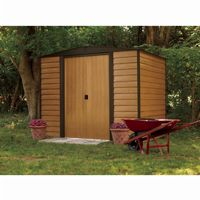 Arrow Euro Dallas (Woodridge) 8 × 6 Steel Storage Shed ED86