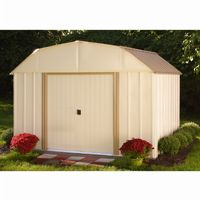 Arrow Lexington 10 ft. × 8 ft. Steel Storage Shed LX108-A