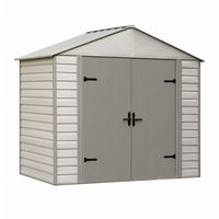 Arrow Viking Series 8 ft. × 5 ft. Vinyl-Coated Steel Storage Shed VVCS85