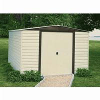 Arrow Vinyl Dallas 10 × 12 Standard Shed VD1012