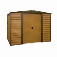 Arrow Woodridge 10 ft. × 6 ft. Steel Storage Shed WR106