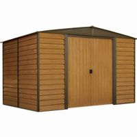 Arrow Woodridge 10 ft. × 8 ft. Steel Storage Shed WR108