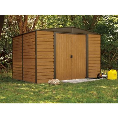 Arrow Euro Dallas (Woodridge) 10 x 12 Steel Storage Shed ED1012