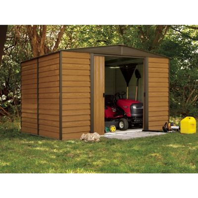Arrow Euro Dallas (Woodridge) 10 x 8 Steel Storage Shed ED108
