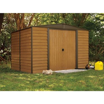 Arrow Euro Dallas (Woodridge) 6 x 5 Steel Storage Shed ED65