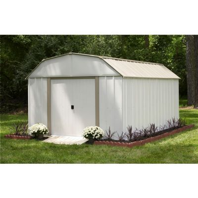 Arrow Lexington 10 ft. ×14 ft. Steel Storage Shed LX1014-C1